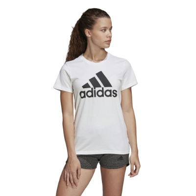 adidas Must Haves Badge of Sport T-Shirt - CBLACK/FTWWHT/CBLACK
