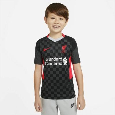 Nike FC Liverpool 3. Trikot 2020/21 Kinder - ANTHRACITE/BRIGHT CRIMSON/LT C