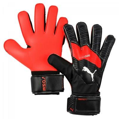Puma One Protect 3 - PUMA BLACK-NRGY RED-PUMA WHITE