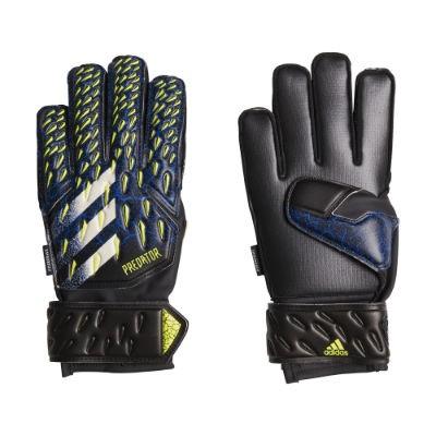 Adidas Predator Match Fingersave Torwarthandschuhe Kinder - CBLACK/FTWWHT/CBLACK