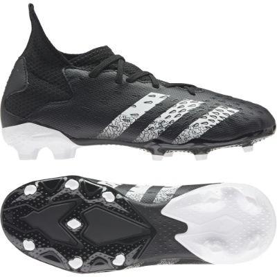 Adidas PREDATOR FREAK .3 FG J - CBLACK/FTWWHT/CBLACK