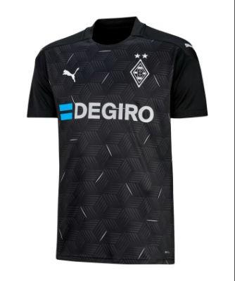 Puma Borussia Mönchengladbach Auswärtstrikot 2020/21 Kinder - PUMA BLACK